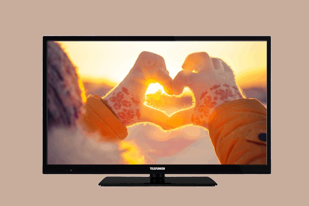 40-Zoll-TELEFUNKEN-TV-Screen-Hände-Winter