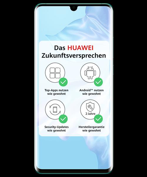 huawei p30l ite front mit Zukunftsversprechen